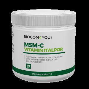 MSM-Vitamina C instant 165 g