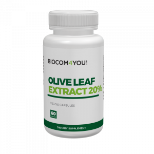 Olive Leaf Extract 20% 750 mg 60 caps.