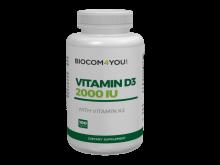 Vitamin D3 2000 IU + K2 100 tabl.