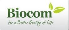 Vinietă Biocom alb (6*2.6 cm) 1 buc.