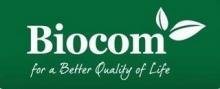 Vinietă Biocom verde (13*6 cm) 1 buc.